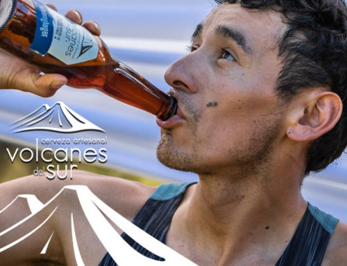 Cerveza Volcanes del Sur, the best beer present in Transandes Challenge
